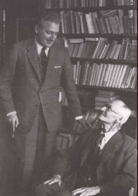 Miguel Serrano - With Herman Hesse